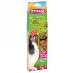 Kolba tymiankowo-marchewkowa dla królika 2 szt ZOLUX