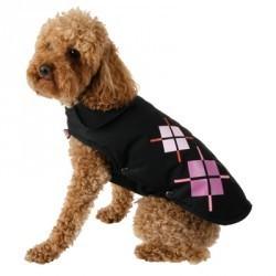 """Ubranko """"Classic Dog"""" 31 cm czarny / różowy ZOLUX"""