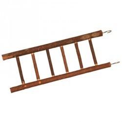 Drabinka 6 szczebelków drewniana naturalna ZOLUX