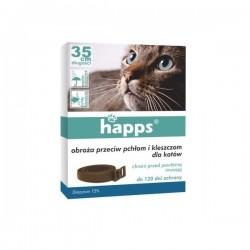 HAPPS - obroża przeciw pchłom i kleszczom dla kotów