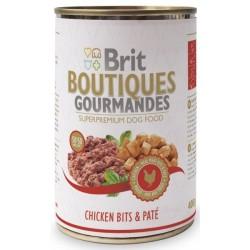 Brit Boutiqoes Gourmandes Chicken Bits & Paté 400 g